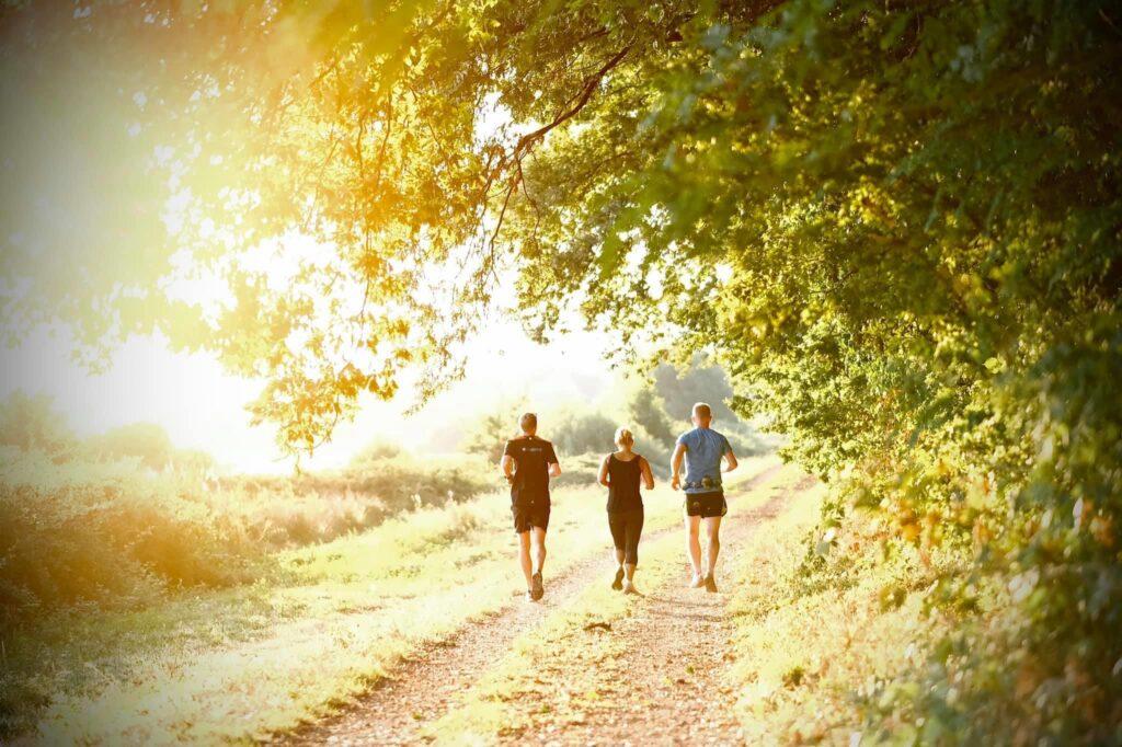 Löpning i Toscana